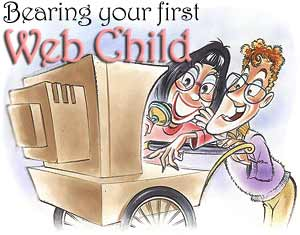Bearing Your First Web Child